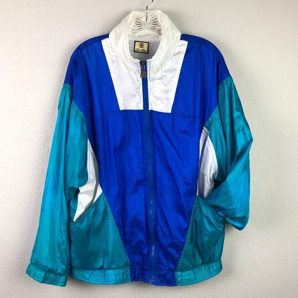14d04f0020138e Vintage 80 s Windbreaker Track Jogging Suit Sz L